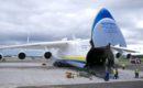 Antonov An 225 Mriya open nose door.