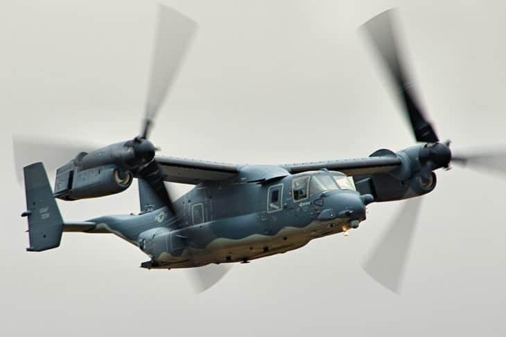 Bell Boeing CV 22 Osprey