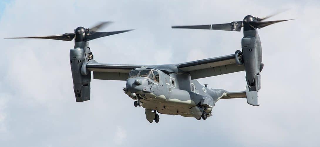 Bell Boeing CV 22B Osprey