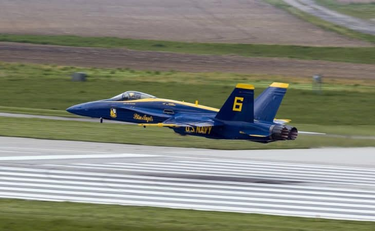 Blue Angel McDonnell Douglas FA 18 Hornet 1