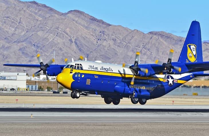 Blue Angels 22Fat Albert22 1992 Lockheed C 130T Hercules