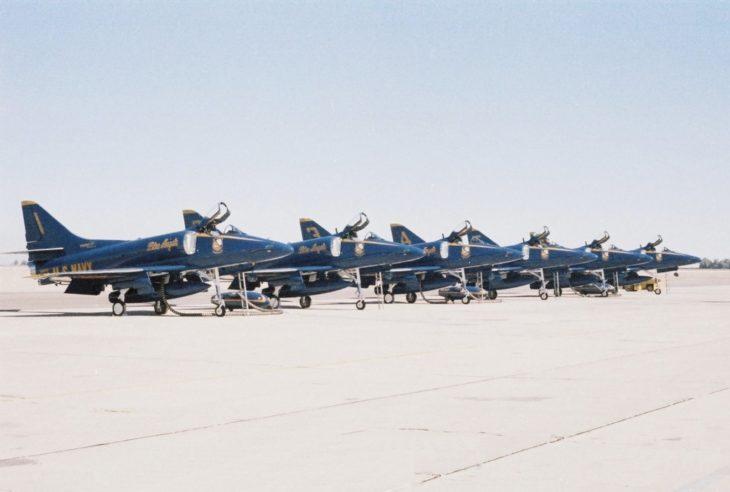 Blue Angels Douglas A 4F Skyhawk