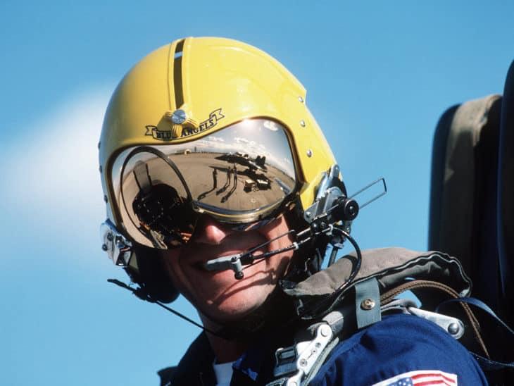 Blue Angels Pilot Helmet
