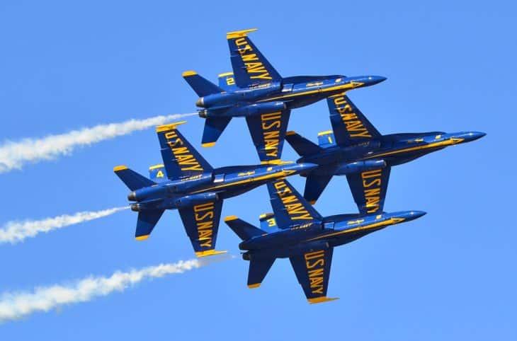 Blue Angels at Miramar Air Show 2014