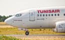 Boeing 737 600 Tunisair closeup
