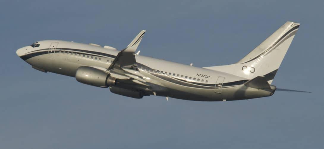Boeing 737 700 BBJ N737CC