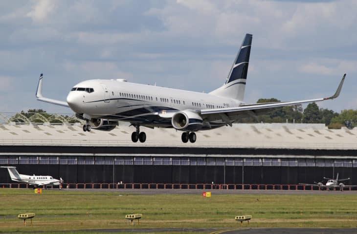 Boeing 737 9HW ER BBJ3 VP CEC 1