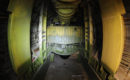 Boeing B 29 Superfortress Bockscar interior view of the bomb bay.