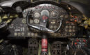 Boeing RB 47H Stratojet pilot controls at the National Museum of the United States Air Force.