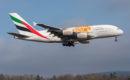 Emirates Airbus A380 861. A6 EEA