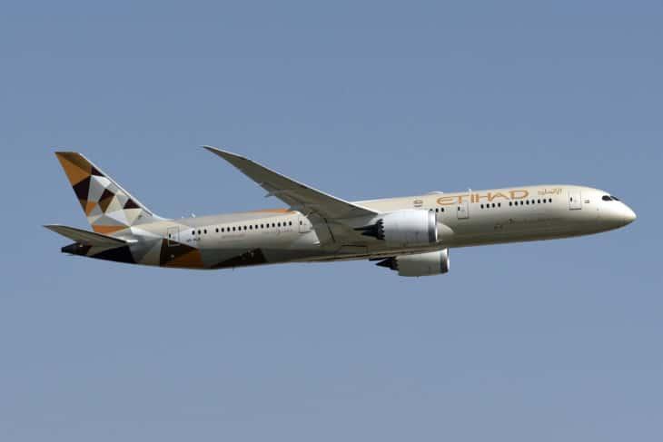 Etihad Airways Boeing 787 9 Dreamliner A6 BLR