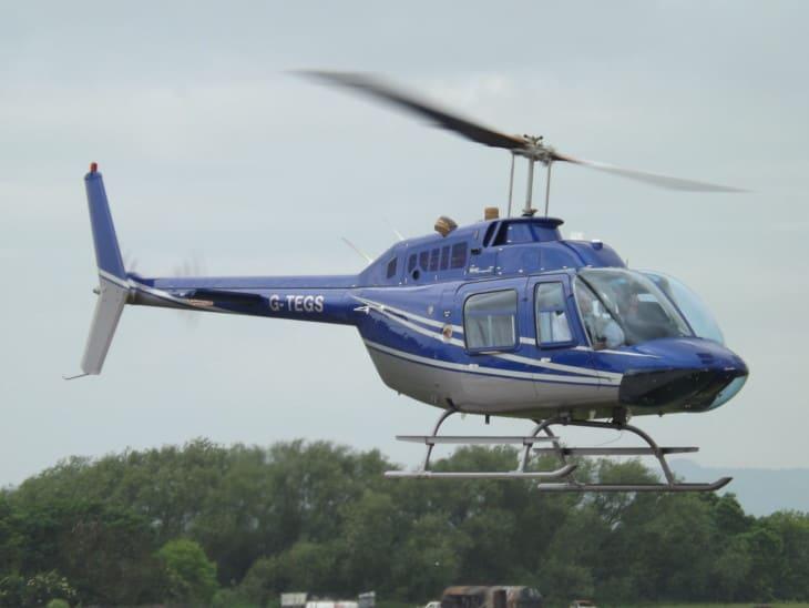 G TEGS Bell Jet Ranger 206