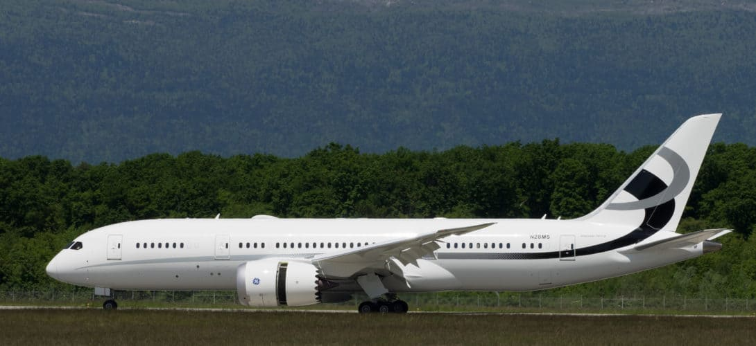 Jet Aviation Flight Services Boeing BBJ 787 8 1