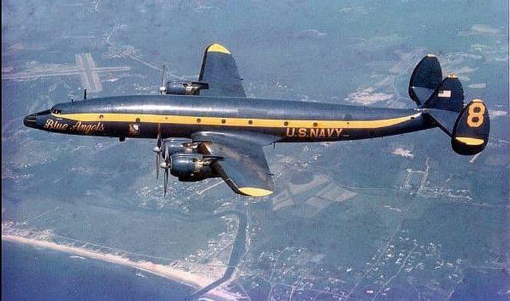 Lockheed Constellation of the Blue Angels