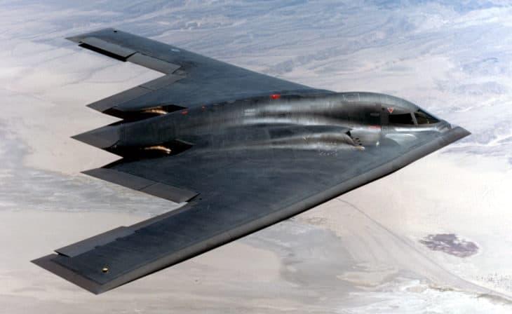 Northrop Grumman B 2 Spirit in flight