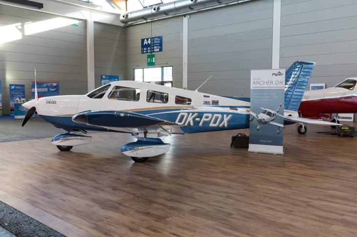 Piper Archer DX at AERO Friedrichshafen 2018 1