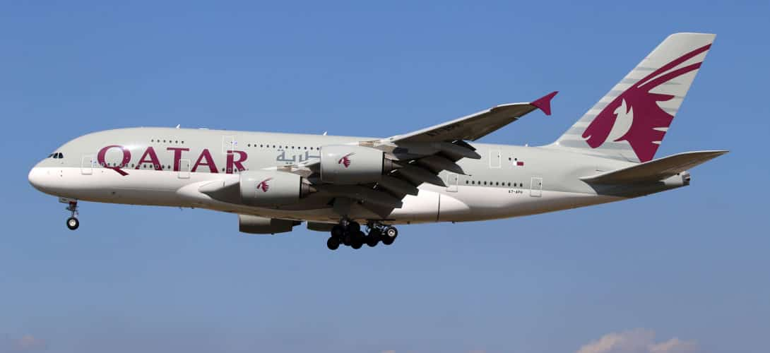 Qatar Airways Airbus A380 861