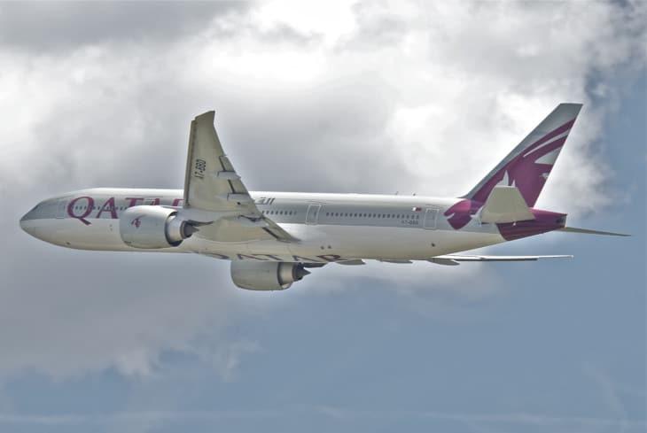 Qatar Airways Boeing 777 200LR
