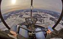 Robinson R44 Cockpit view.