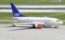 Scandinavian Airlines Boeing 737 600 taxi