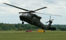 Sikorsky S 70 Blackhawk touching down.