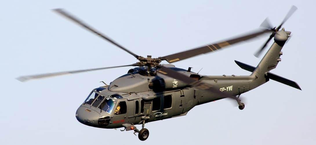 Sikorsky S 70i Black Hawk at Radom Air Show 2011.