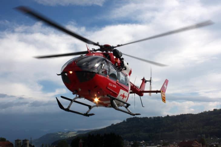 Swiss Air Ambulance Eurocopter Kawasaki EC 145