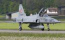 Swiss Air Force Northrop F 5E Tiger II.