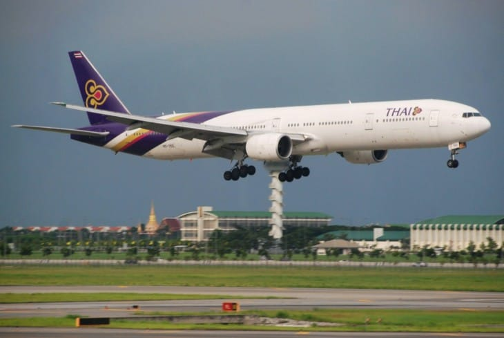Thai Airways International Boeing 777 300 1