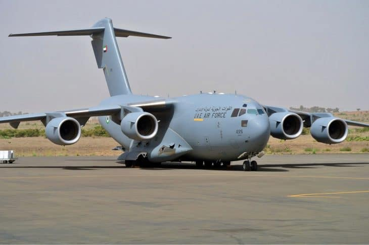 UAE Air Force Boeing C 17A Globemaster III