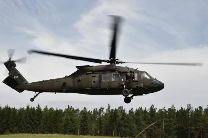 UH 60 Black Hawk Helicopter