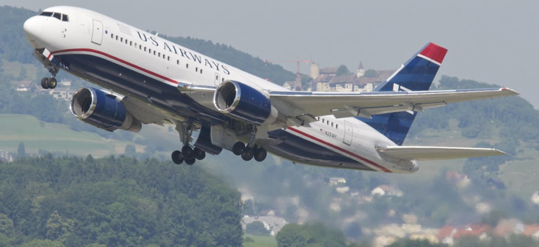 US Airways Boeing 767 200
