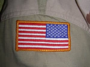 Can Civilians Wear American Flag Patches?