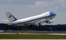 US Navy Air Force One taking off
