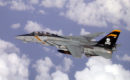 US Navy F 14 Tomcat assigned to VF 103 .