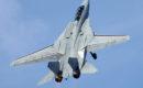 US Navy F 14D Tomcat flies an aerial demonstration.