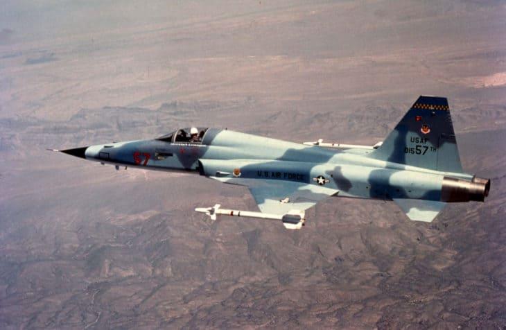 USAF Northrop F 5E 1