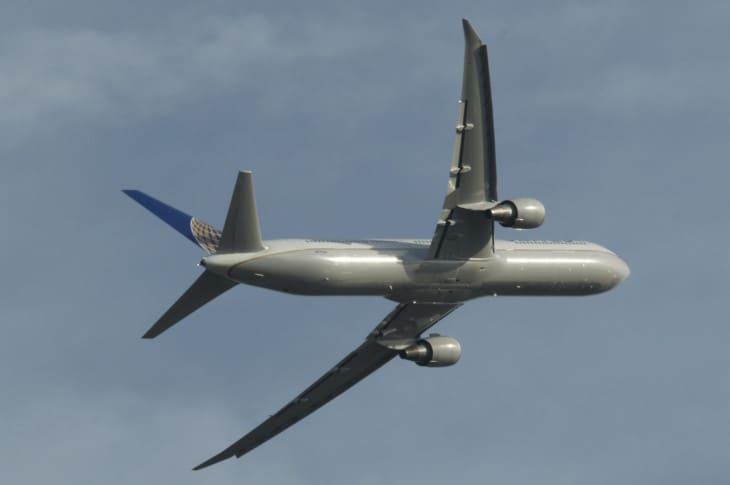 United Airlines Boeing 767 400ER.