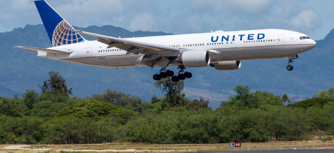 United Airlines Boeing 777 200ER