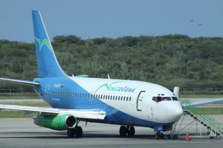 Venezolana Boeing 737 200