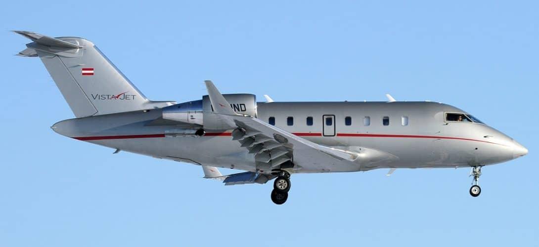 VistaJet Bombardier CL 600 2B16 Challenger 605