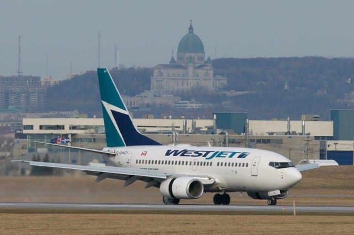 WestJet Boeing 737 600