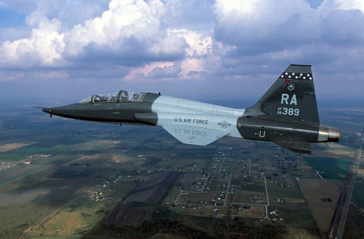 A U.S. Air Force Northrop T 38A 65 NO Talon