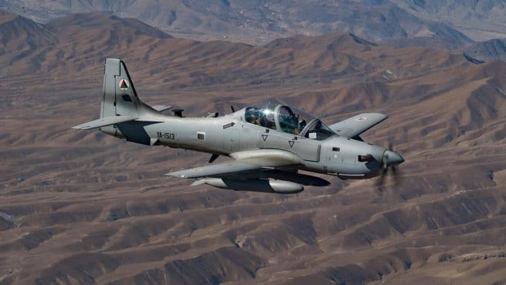 An Afghan Air Force A 29 Super Tucano 1
