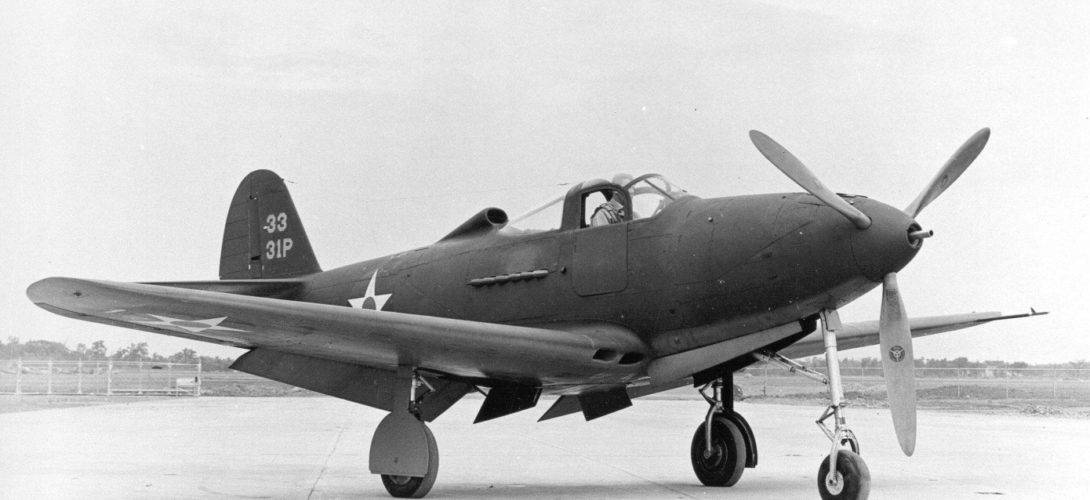 Bell P 39 Airacobra.