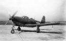 Bell P 63 Kingcobra on the flightline.