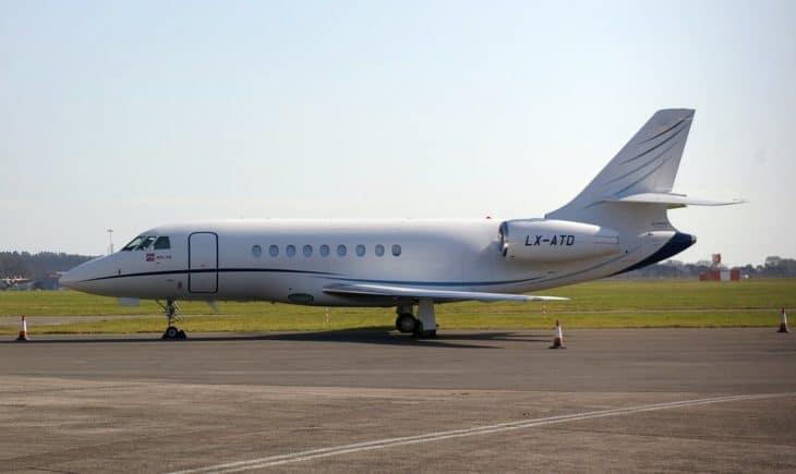 Dassault Falcon 2000DX LX ATD.