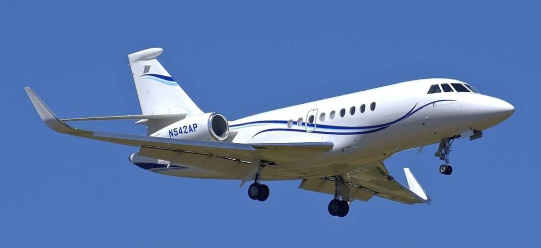 Dassault Falcon 2000LX N542AP