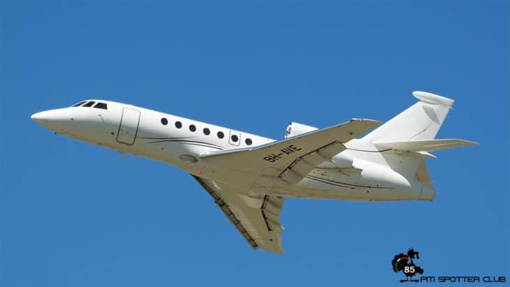 Dassault Falcon 50EX 9H AVE