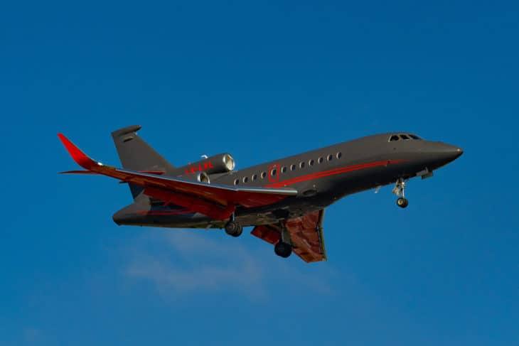 Global Jet Luxembourg Dassault Falcon 900LX LX LXL.
